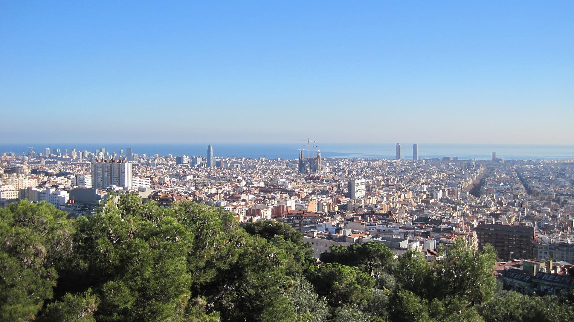 Barcelona solicitors skyline